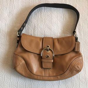 Coach Camel SoHo Leather Bag/Purse